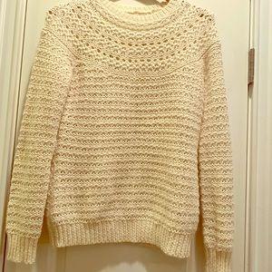 Ralph Lauren cashmere blend knit sweater